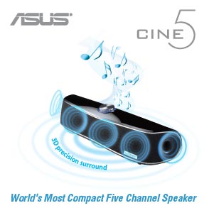 ASUS Cine5 Sound Bar (Discontinued by Manufacturer)