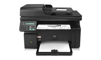 HP LaserJet Pro M1212nf Front View Front View