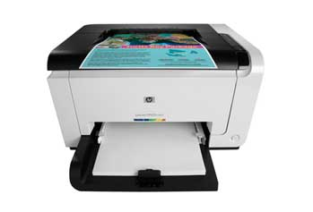 HP LaserJet Pro CP1025nw Front View