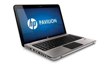 HP Pavilion dv6-3230us Entertainment Notebook PC Left View
