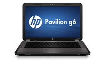 HP Pavilion g6-1a69us Notebook PC Front View