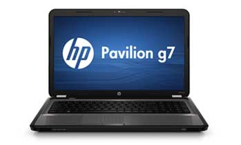 HP Pavilion g7-1070us Notebook PC Front View