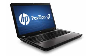 HP Pavilion g7-1070us Notebook PC Left View
