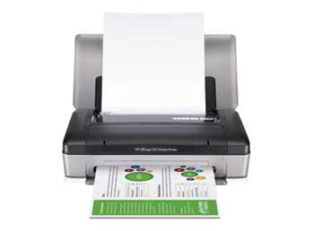 HP Officejet 100 Mobile Printer Front View