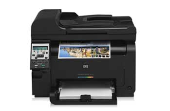 HP LaserJet Pro 100 Color MFP M175nw Front View