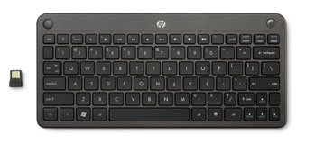 HP Wireless Mini Keyboard Side View