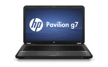 HP Pavilion g7-1260us Notebook PC Front View