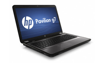 HP Pavilion g7-1260us Notebook PC Left View