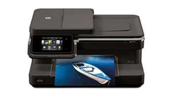 HP Photosmart 7510 e-All-in-One Front View