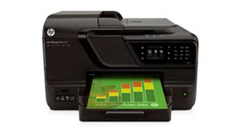 HP Officejet Pro 8600 e-All-in-One Front View