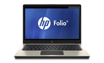 HP Folio 13-1020us Front View