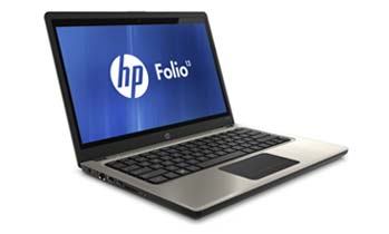 HP Folio 13-1020us Front Left View