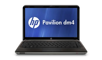 HP Pavilion dm4-3050us Notebook PC Front View