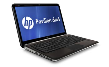 HP Pavilion dm4-3050us Notebook PC Left View