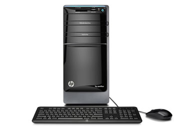 HP Pavilion p7-1220 PC Front View