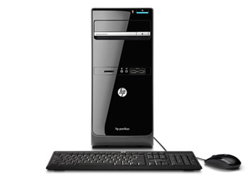 HP Pavilion p6-2100 PC Front View