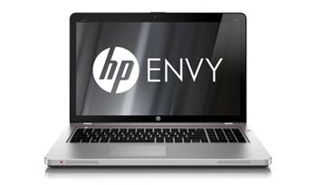 HP Envy 17-3070NR notebook PC Front View