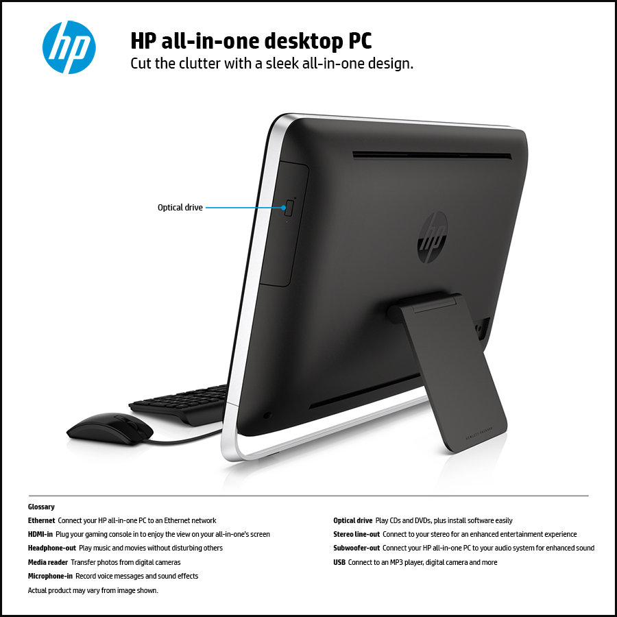 Hp Pavilion 21 H010 21 Inch Touchsmart All In One Desktop
