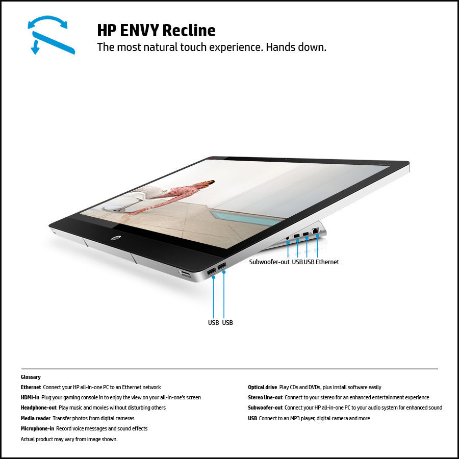 hp envy recline 27 manual