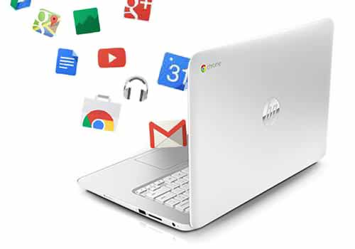 HP Chromebook 14 White