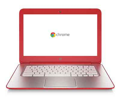 chromebk finish red HP Chromebook 14 (Peach Coral)