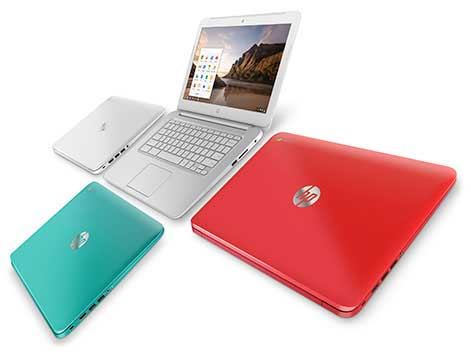 chromebk hero HP Chromebook 14 (Peach Coral)