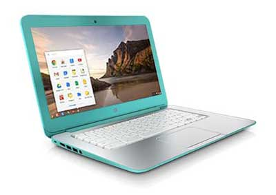 Take the HP Chromebook 14 from your desk to the great outdoors while