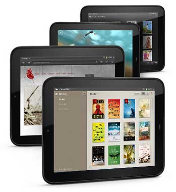 HP TouchPad Entertainment Everywhere