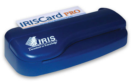 Amazoncom iriscard pro business card scanner electronics for Scanning business cards into outlook