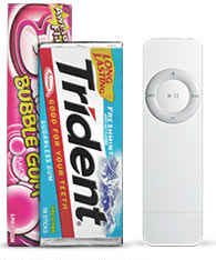 Ipod Shuffle Commercial Online - Ishuffle Dimension Comparison 2