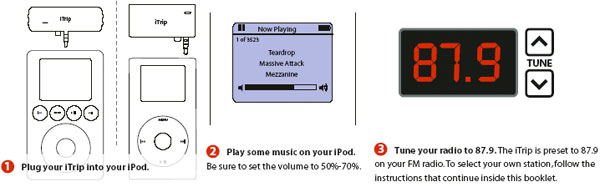 how to play music from my ipod on a toughbook