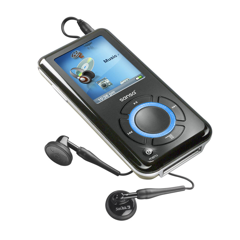 Amazon.com: SanDisk Sansa e250 2 GB MP3 Player with microSD Expansion