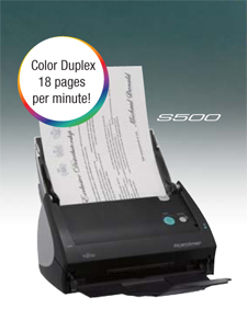 Inuvio EcoScan i6d Duplex Dual Sided Color Scanner ScanSharp Basic Software
