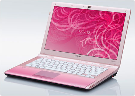 Sony VAIO VPC-CW21FX/P 14-Inch Laptop (Pink) � Laptop Computers &Laquo; Laptop Computers &Amp; Netbooks � Lead Gadget :  laptop computers laptop vaio sony
