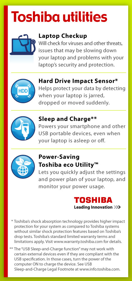 toshiba laptop how to get in protective mode