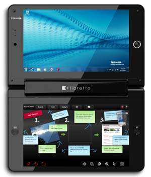 Libretto W105 dual screens