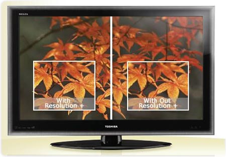 toshiba 2010 hdtv feature resolution Toshiba 40UX600U 40 Inch 1080p 120 Hz LED HDTV with Net TV (Black Gloss)