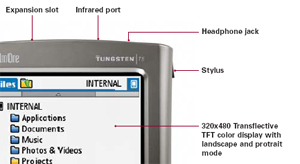 tungsten t5 diagram small Palm Tungsten T5 PalmOne PDA (1035NA) Reviews