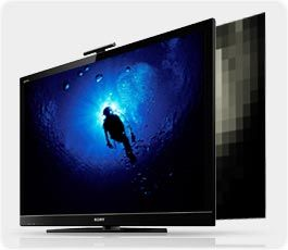 sony hx800 diver sm Sony BRAVIA KDL40HX800 40 Inch 1080p 240 Hz 3D Ready LED HDTV, Black