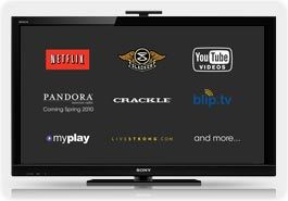 sony hx800 internettv sm Sony BRAVIA KDL40HX800 40 Inch 1080p 240 Hz 3D Ready LED HDTV, Black