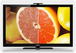 sony hx800 oranges sm Sony BRAVIA KDL40HX800 40 Inch 1080p 240 Hz 3D Ready LED HDTV, Black