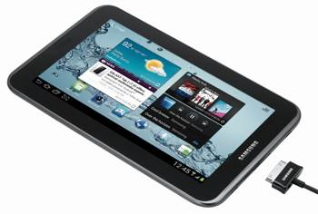 galaxy tab 2-7 angle