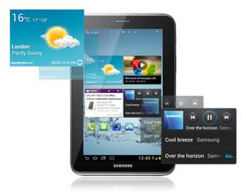 galaxy tab 2-7 apps