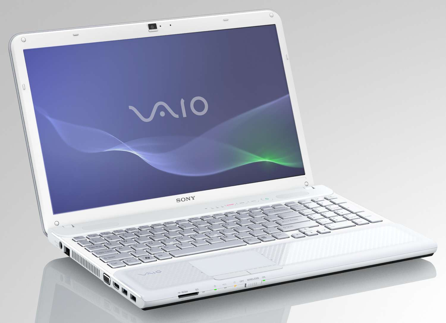 VAIO VPCCB25FX/W 15.5Inch Laptop White: Computers amp; Accessories