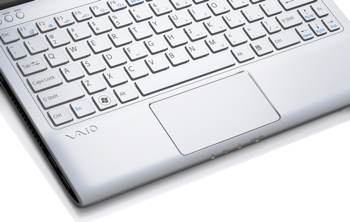 E Series 11 touchpad white