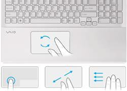 touchpad gestures