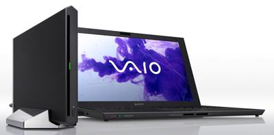 Sony VAIO Z with Power Media Dock