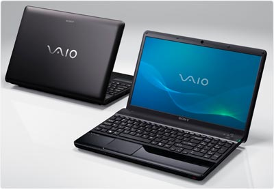 Sony VAIO EE laptop in black