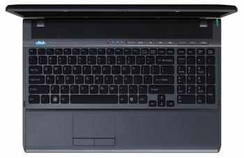 Sony VAIO F Series laptop in black
