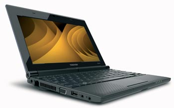 Toshiba Mini NB505 in brown